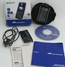 Sony Walkman NWZ-A816 Black (4 GB) Digital Media MP3 and MP4 Player