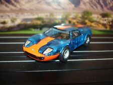 AUTO WORLD ~ '05 Ford GT Blue ICE Edition ~ New in Jewel Case~ Fits AFX, JL, AW
