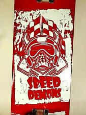 "Authentic Speed Demons 31"" Skateboard with Awesome Graphics"