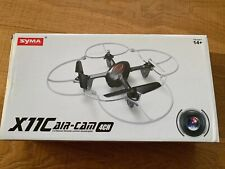 Syma X11C Air Cam 4 Channel Remote Control Quadcopter Drone Used Free Shipping