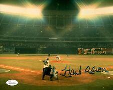 Braves Henry HANK AARON Signed 8x10 AUTO Photo #6 AUTO ~ HOF '82  1957 MVP - JSA