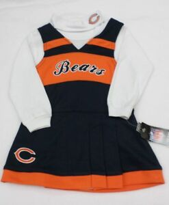 NFL Chicago Bears Infant Cheer Jumper and Turtleneck Shirt 18 M