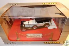 VEREM SOLIDO OLD MERCEDES TORPEDO SS 1928  BLANCHE 1/43 REF 301 IN BOX