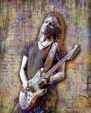 Kenny Wayne Shepherd 16x20in Poster, Kenny Wayne Guitar Art Free Shipping US