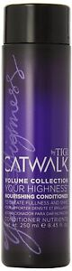 TIGI Catwalk your highness nourishing conditioner 8.45 oz / 250 ML