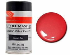 Testors Model Master Automotive Guards Red Enamel Spray Paint Can  3 oz. 2918