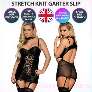 New Sexy Women PVC Faux Leather Wet Look Mini Bodycon Dress Lingerie Clubwear