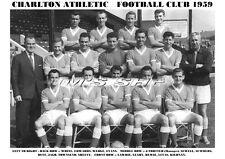 CHARLTON ATHLETIC F.C. SQUAD TEAM PRINT 1959 (JAGO/LAWRIE/DUFF)