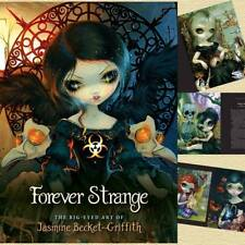 Forever Strange Jasmine Becket-Griffith Fantasy Fairy Art Book Hard Padded Cover