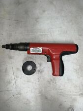 Hilti Dx350 Power Actuated Fastener Nail Gun Tool