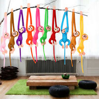 Fun Long Arm Hanging Monkey Plush Baby Toys Stuffed Animals Soft Doll Kids Gift