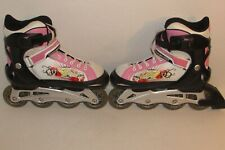 Mongoose Challenge Inline Skates Fits Size 5-8 Adjustable Used