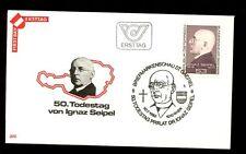 Austria 1982 Ignaz Seipel FDC #C3309