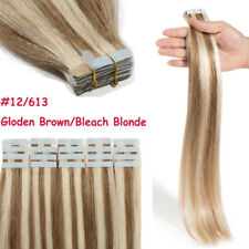 Undetectable 7A Tape In THICK 100% Real Remy Human Hair Extensions Any Color J35