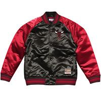 Chicago Bulls Mitchell & Ness NBA Colossal Premium HWC Jacket - Black