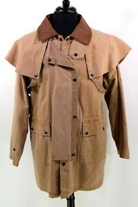 KAKADU Traders Men's M Mustard Cotton Australia Gold Coast Drover Jacket 3J18