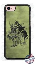 The Vikings Warriors Sketch  Phone Case Cover For iPhone Samsung LG Google