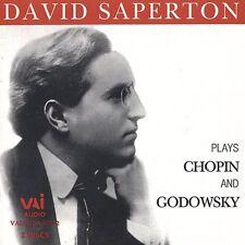 David Saperton - Plays Chopin [New CD]