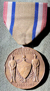 U. S. Army Cuban Pacification Medal 1906-1909