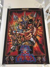 DIMAHOO - Original B1 Arcade Poster Capcom