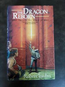 THE DRAGON REBORN BY ROBERT JORDAN HARDBACK DJ UK FIRST EDITION