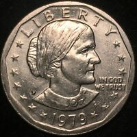 CHERRY PICKERS WIDE RIM NEAR DATE 1979-P Susan B Anthony Dollar
