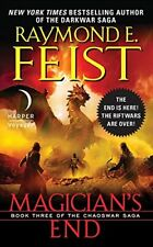 Magician's End (Chaoswar Saga), Feist, Raymond E, Excellent Book