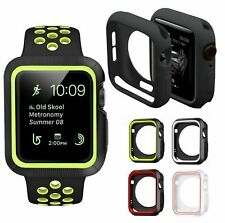 AMZER TPU Bumper Silicone Protector Case Cover For Apple Watch Series 5 44mm