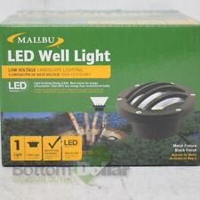 Malibu 1401-3500-80 LED Well Light Low Voltage Landscape Lighting Black