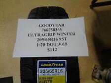1 NEW GOODYEAR ULTRAGRIP WINTER  205 65 16 95T  TIRE 766758355 Q9