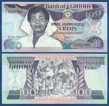 GHANA 100 Cedis 1986  UNC  P.26 a