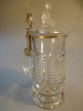 Chope BIERE COUVERCLE frotti frotta taille glasfigur pour 1900