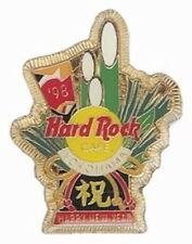 Hard Rock Cafe YOKOHAMA 1998 Happy New Year PIN Japanese Bamboo Kadomatsu #10555