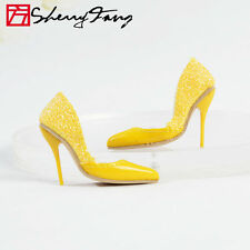 "Sherry Yellow Stiletto Heel shoes for 16"" Tonner Tyler Wentworth  Doll 47tns5"