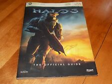 HALO 3 XBOX 360 The Official Guide Bungie Microsoft Game X-Box Book