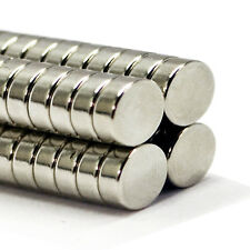Neodymium Disc 25x Very Strong 15mm x 4mm  Permanent DIY Magnetic Disk Magnets