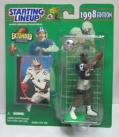 1998  DEION SANDERS Starting Lineup (EXT) Football Figure & Card - COWBOYS