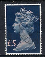 GB = POSTMARK - QE2 era, `HILLHEAD / GLASGOW` 1991 Single Ring. £5 Tall Machin.