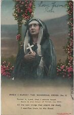 POSTCARD SONG CARDS  OWhen I survey the wondrous cross  (2)
