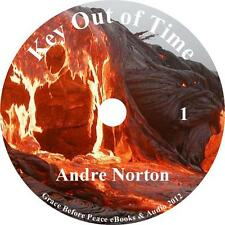 Key Out of Time, Andre Norton Science Fiction Audiobook unabridged on 1 MP3 CD