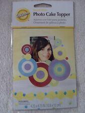 Wilton Sweet Dots Top Photo Cake Topper New 2113-1605
