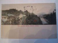"1908 ""THE KANAYA HOTEL - NIKKO, JAPAN - STAMPED  -  TUB RR"