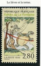 STAMP / TIMBRE FRANCE OBLITERE N° 2963 JEAN DE LAFONTAINE