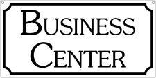 Business Center- 6x12 Aluminum office advertising sign