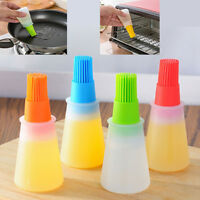 Bottiglia Olio Pennello Dosatore Dispenser Setole Cucina Condire Alimenti 788