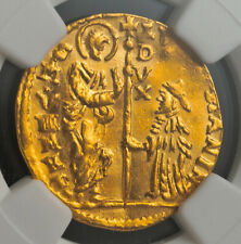 1789, Venice, Ludovico Manin. Gold Zecchino Ducat Coin. (3.49gm!) NGC MS-61!