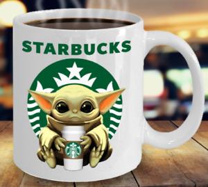 Star.bucks Ba.by Yo.da Star-W.ars Cute Yo.da STAR.BUCKS Fan Coffee Mug Gift