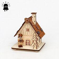 CASA ahumeante LED Panadería Horno pfefferkuchenhaus con 1 Figura 15cm 40590
