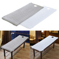 2pcs Thicker Spa Massage Table Cover Sheet Beauty Bed Quilted Mattress Pad