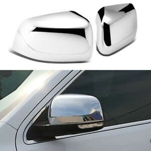 For Dodge Durango / Jeep Grand Cherokee 2011-2021 Chrome Mirror Covers Pair
